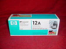 NEW OEM HP 12A Q2612A BLACK TONER 1010 1012 1015 3015 3020 3030 #1