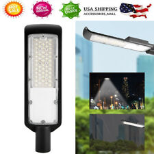 50W Outdoor LED Street Light 4000LM Dusk to Dawn Waterproof Security Lighting