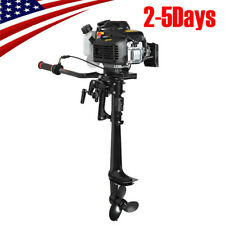 4 Stroke 3.6 HP Outboard Motor 55CC Boat Engine With Air Cooling System Durable