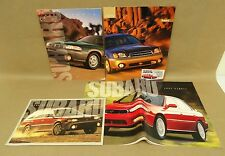 1996-2000 Subaru Legacy Outback Impreza Forester Brochure Lot Accessories Colors