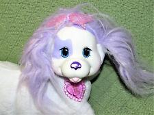 PUPPY SURPRISE CALI MOMMA MOMMY DOG WHITE PURPLE SPARKLY FUR HEART LOCKET 2014