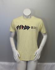 Vintage Graphic T-shirt - Ocean Pacific Neon Color Wavz 1988 - Men's Large