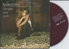 LUCIE SILVAS - Forget me not CD SINGLE 2TR EU CARDSLEEVE 2005 VERY RARE!!