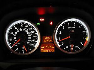 7pcs white LED Dash Cluster Light Kit for Toyota Land Cruiser 80 Series