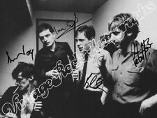 JOY DIVISION  - print signed photo - foto con autografo stampato