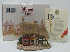 Lilliput Lane The Toy Shop Cottage Collection Ornament Figurine NEW