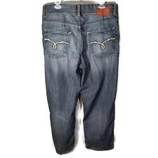Ecko Unltd Dark Jeans Whiskering Straight Leg - 36x29 (TAG 36x30)