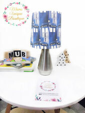 Doctor Who Police Box Lamp Children Nursery Table Lamp Night Light Touch Lamp