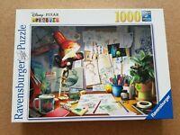 Ravensburger 1000 piece Jigsaw Puzzle - Pixar Desk (Toy Story, Nemo, etc.)