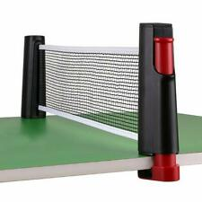 Retractable Table Tennis Ping Pong Net Kit Telescopic Replacement Sporting Set