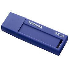 Toshiba Thn-u302b0640mf - 64GB Transmemory U302 Usb3 Blue
