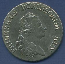 Preußen Taler 1785 A, Friedrich II., sehr schön (m2363)