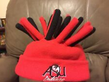 Child's ASU Arkansas State University Fleece Dreadlock Jester Hair Hat