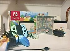 Used Animal Crossing Switch bundle, Comes with wired controller and Smash Ult.