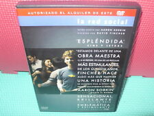 LA RED SOCIAL  - BIOGRAFIA -  dvd