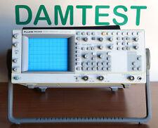 FLUKE PM3390B 200MHz combiscope oscilloscope FRESH CAL oscilloscopio