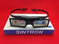[Sintron] 2X 3D Active Glasses (RF) For 2012~2018 Panasonic and Samsung 3D TV