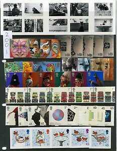 MINT Commemoratives - GB 2001 - 2002 Individual Commemorative Sets - TAKE PICK