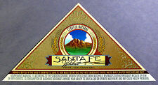 Santa Fe Brewing SANTA FE WHEAT beer label NM 12oz - Trimmed w/ Gov Warning