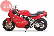 Ducati 750 Supersport (1991) - Manual de taller en CD