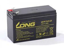 Akku kompatibel RE7-12LFR 12V 7,2Ah AGM Blei wartungsfrei VdS USV UPS Battery