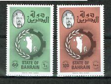 Bahrein - FM Landkarte 1977 (postfr. / MNH / **) | Michel-Nr. 262.- 263.