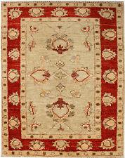 Chobi Rug, Ivory orange red Handmade Oriental Rug mat,2'.10''x1'.10'' ft/88x57cm