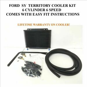 Ford territory SY 6 cyl Automatic Transmission DIY Oil Cooler Bypass Kit 6 sp...
