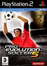 SONY PLAYSTATION 2 PS2 PRO EVOLUTION SOCCER PES 5 PAL ITALIANO SENZA MANUALE