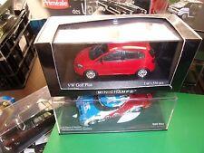 VW GOLF PLUS 2005  TORNADOROT Rouge MINICHAMPS 1:43 NEUF EN BOITE