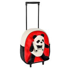 "12"" Panda Travel Bag Backpack Trolley Kids Luggage"