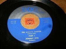 JOHNNY OTIS - THE MIDNITE CREEPER PART 1 + 2 / LISTEN - RNB TITTYSHAKER POPCORN