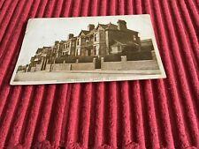 VINTAGE POST CARD REDBRINK CRESCENT,BARRY ISLAND.