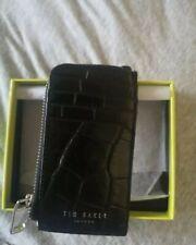 Womens card holder by Ted Baker bnib unused in black. Rrp89.99
