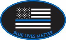 BLUE LIVES MATTER STICKER POLICE DECAL WINDOW BUMPER