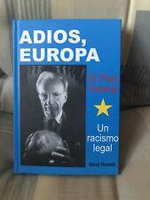 ADIOS EUROPA GERD HONSIK