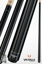 Valhalla by Viking 2 Piece Pool Cue with case - Black - Lifetime Warranty!