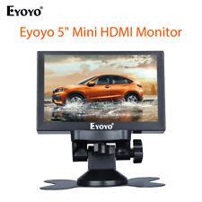 """Eyoyo 5"""" Mini Monitor de visión trasera admiten VGA HDMI AV Bnc Para Coche industria médica"""