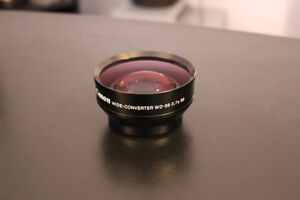 Canon WD-58 0.7 x 58 Wide Converter Lens Free Shipping BEST DEAL & NO CHINA FAKE