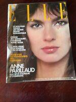Rivista Magazine Elle France 21 Fevrier 1983 N.1937 Anne Parillaud Michel Jonasz