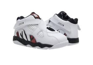 Nike Air Jordan 8 Retro • Toddler Size 8C • White Black Red • 305360-104