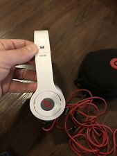 Beats by Dr. Dre Solo HD Headband Headphones Monster- White