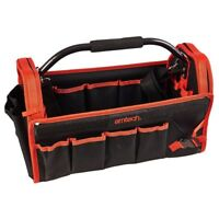 Tool Caddy Tote Bag Heavy Duty Base Carry Case Holdall 18'' Amtech Electricians