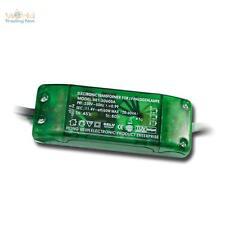 Elettronico Trasformatore alogeno 12V 20-60VA CON INTERRUTTORE