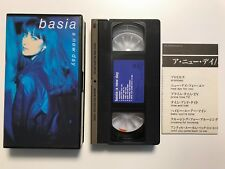 basia - a new day - Until You Come Back To Me 1990 Japan VHS tape NTSC ESVU82
