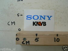 STICKER,DECAL SONY KNVB VOETBAL FOOTBALL SOCCER
