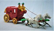 Vintage Plastic Toy Stage Coach