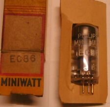 EC86 electronic tube (equivalent 6CM4 Philips