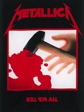 Metallica Textile Flag Kill Em All Black 77 x 105cm