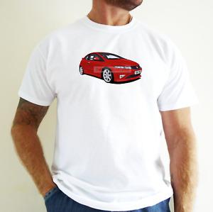 HONDA CIVIC TYPE R (FN2) CAR ART T-SHIRT. PERSONALISE IT!